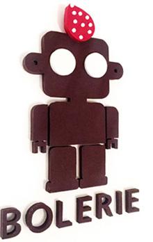 Logotipo Bolerie 3D
